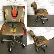 Funky animal desk chairs