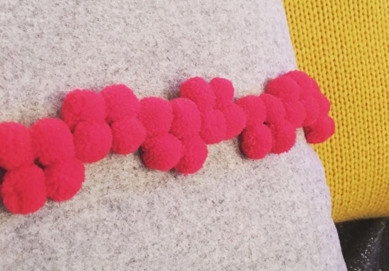 Pom Pom Cushions coming soon!